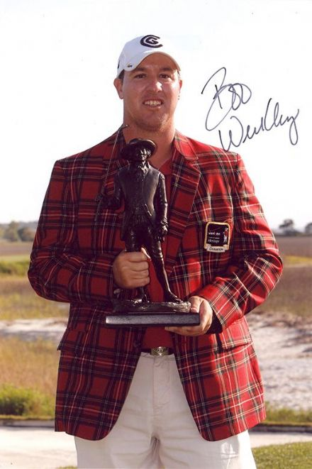 Boo Weekley, PGA Tour golfer, signed 12x8 inch photo.